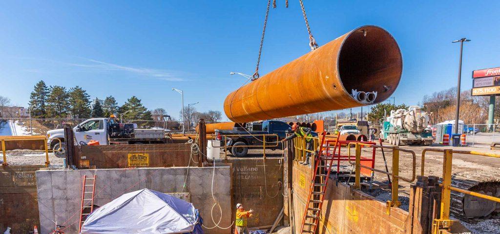 industrial underground pipe